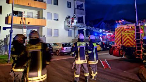 Feuerwehreinsatz in Langen