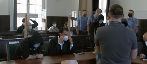 Letzter Prozesstag am Landgericht Darmstadt
