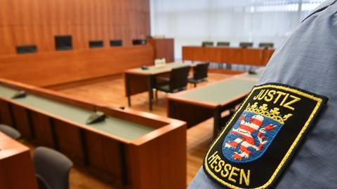 Schwurgerichtssal des Landgerichts Kassel