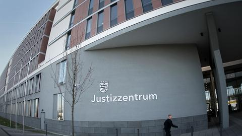 Das Landgericht Wiesbaden.