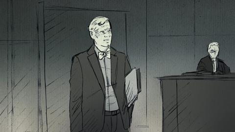 Björn Clemens ist einer von zwei Verteidigern des Mitangeklagten Markus H.