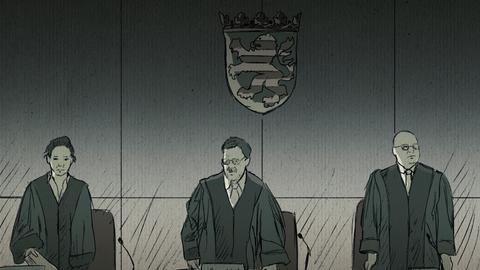 Der 5. Strafsenat am Oberlandesgericht Frankfurt