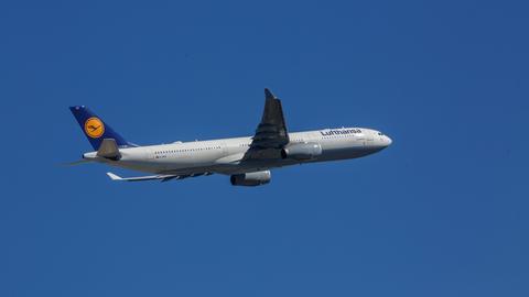 Lufthansa-Flugzeug A330