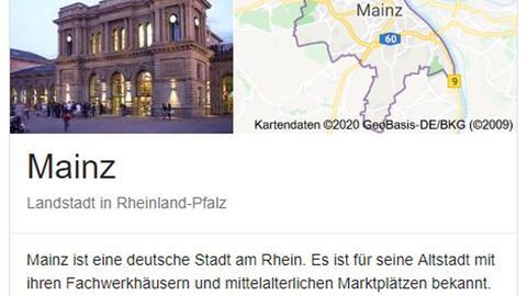 """""""Landstadt"""" Mainz"""