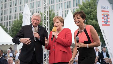 Merkel beim Hessenfest 2019 in Berlin