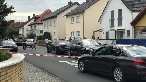 Straßenszene in Mörfelden