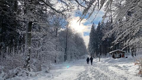 Winterwanderung zum Altkönig