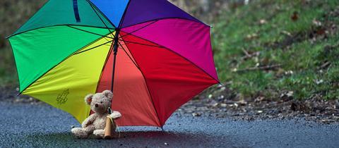 """""""Aprilwetter"""" schreibt uns hessenschau.de-Nutzer Nils Korn zu seinem Foto."""