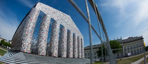 """The Parthenon of Books"""" in Kassel"""