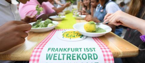 Grüne-Soße-Tag in Frankfurt