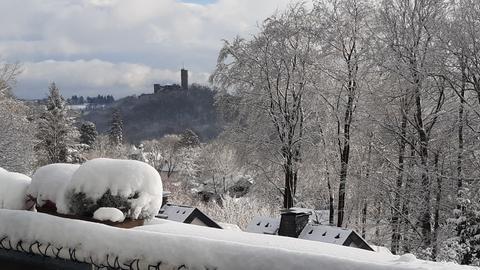 Blick auf die Burg Königstein