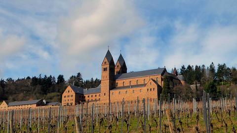 """Die Abtei St. Hildegard in Rüdesheim-Eibingen, aufgenommen beim Sonntagsspaziergang"""", schreibt uns hessenschau.de-Nutzerin Hadwiga Machar zu ihrem Foto."""