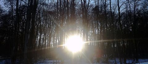 Sonnenaufgang bei Oberursel