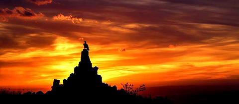 Momentaufnahme Sonnenuntergang