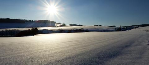 Momentaufnahme Wintertag