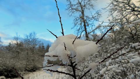 Winter in Romrod