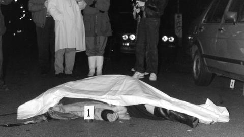 Mord an Frankfurter Garderobenfrau