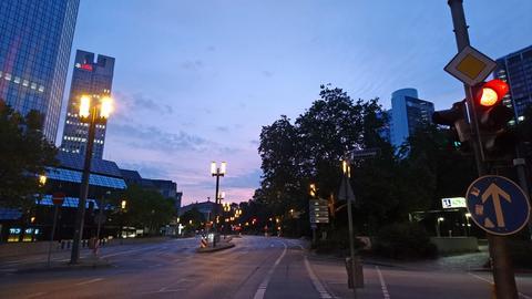 Morgenstimmung Frankfurt