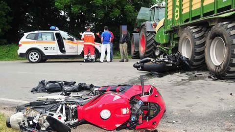 Diemelsee: Motorradfahrer stirbt bei Unfall