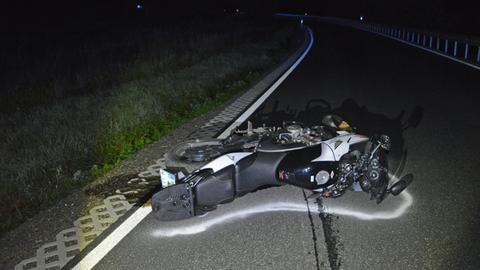 Motorradunfall in Haiger