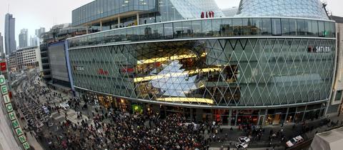 MyZeil Frankfurt Einkaufszentrum Zeil Shopping