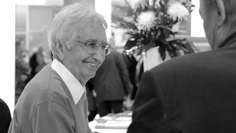 Der Gründer der Satire-Zeitschrift Pardon, Hans A. Nikel