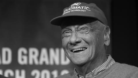 Formel-1-Legende Niki Lauda