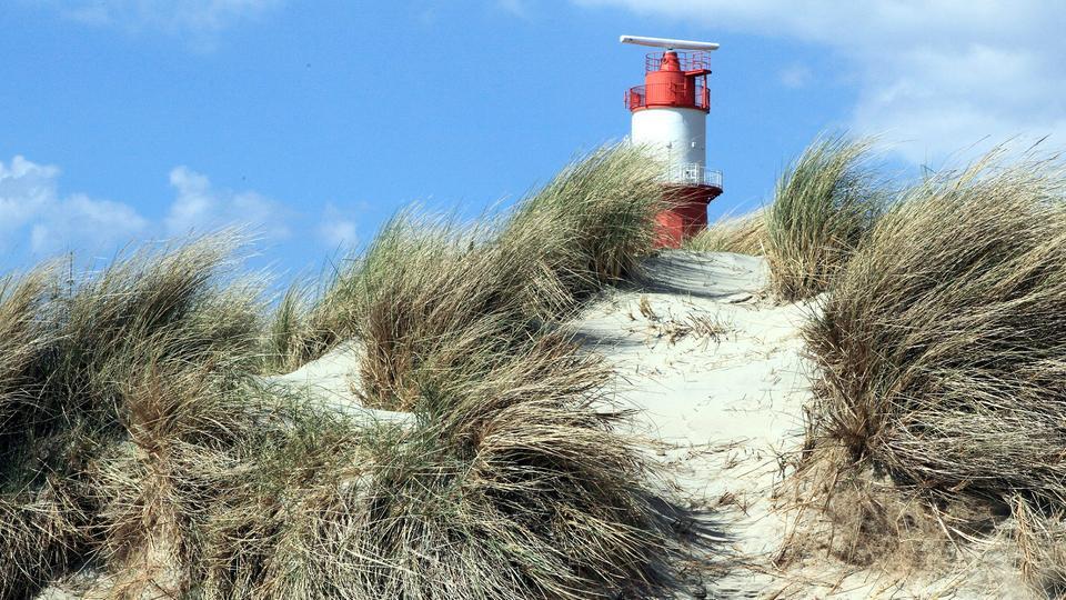 Leuchtturm der Nordseeinsel Borkum