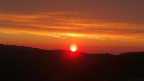 Sonnenaufgang in Siegbach