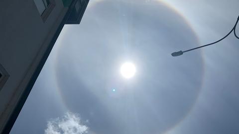 Nutzerfoto runder Regenbogen über Mühlheim