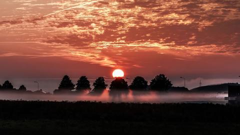 Sonnenaufgang bei Wetzlar
