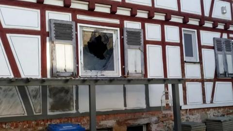 Molotowcocktail-Attacke in Ober-Ramstadt