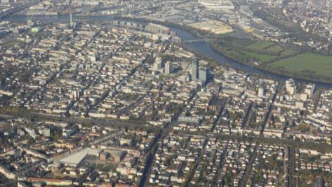 Offenbach von oben