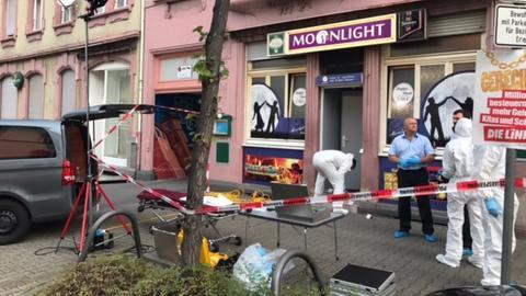 Der Tatort in Offenbach