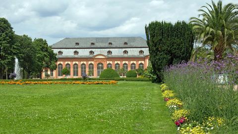 Die Orangerie in Darmstadt