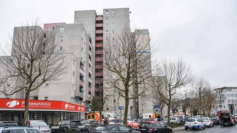 Das Osthessen-Center besteht aus mehreren Gebäuden.