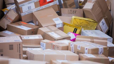 Unsortierte Pakete in größerer Menge