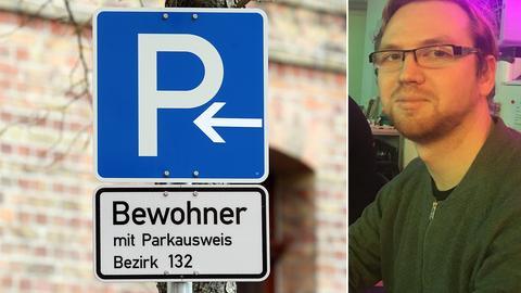 Anwohner-Parkschild, Markus Drenger vom Chaos Computer Club