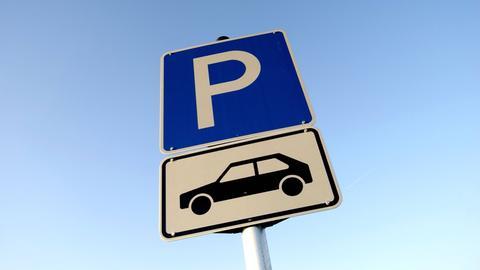 Parkplatz-Schild