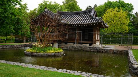 Bereits seit einiger Zeit geschlossen: der Pflaumenlaube-Pavillon