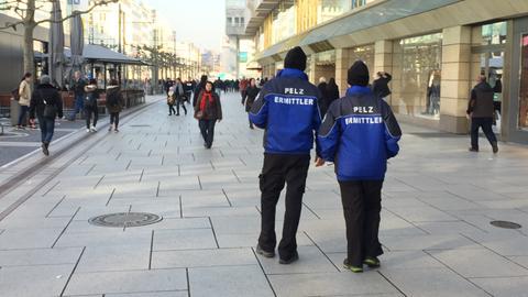 Pelz Polzei ermittelt auf Frankfurter Zeil