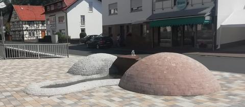 Penis Brunnen in Jossgrund