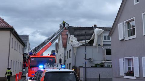 Feuerwehreinsatz in Griesheim