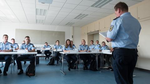 Ausbildung von Polizeianwärtern