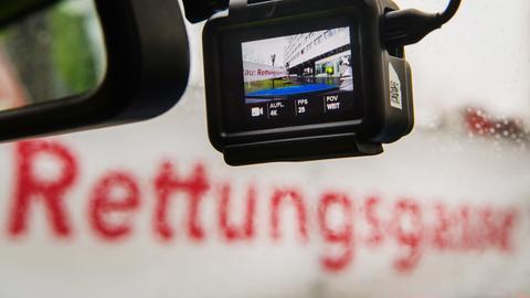 Rettungsgasse Kamera