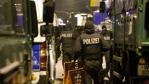 Polizei-Razzia