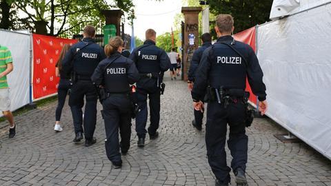Polizei Schlossgrabenfest