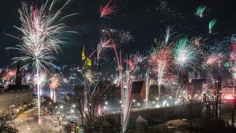 Waffen- und Böllerverbot zum Neujahrswechsel in Frankfurt