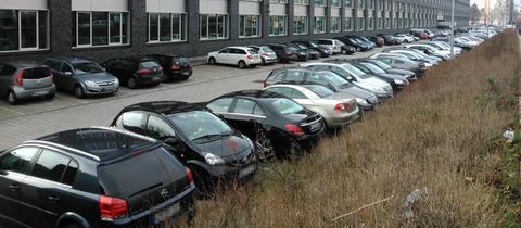 Polizeipräsidium Frankfurt Parkplätze