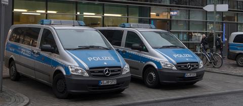 Das 1.Polizeirevier auf der Frankfurter Zeil